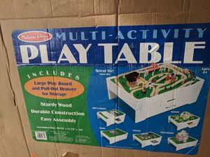 Melissa and Doug play table ONLY for Sale in Roseville, CA