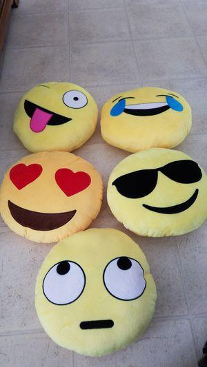 Emoji pillows for Sale in Heyworth, IL