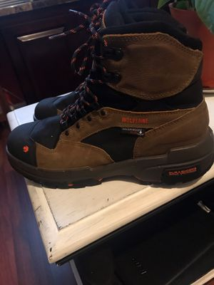 Wolverine Steel Toe Boots SIZE 11 and 1/2 for Sale in Denham Springs, LA