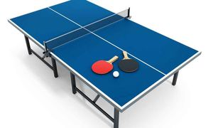 FREE - Ping pong table (decent shape) for Sale in Houston, TX
