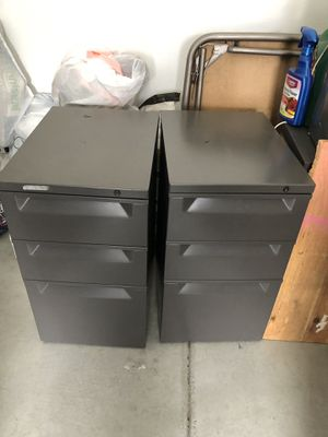 Excellent condition heavy duty file cabinets for Sale in Anaheim, CA