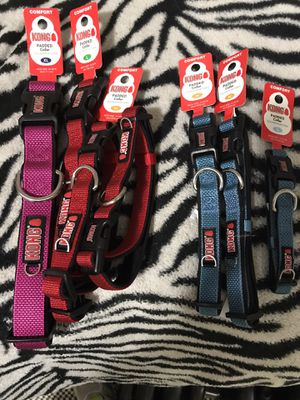 Kong dog collars 5.50 for Sale in Houston, TX