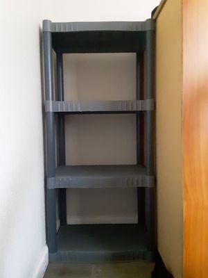 Plastic shelf 47x22x14 for Sale in Modesto, CA