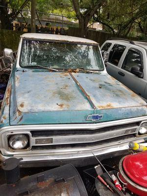 1969 Chevrolet C20 CUSTOM CAMPER PICKUP TRUCK for Sale in Gulfport, FL
