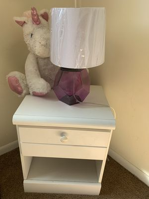 Desk, night stand chest and little girl vanity for Sale in Dearborn Heights, MI