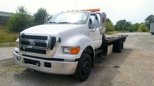 🎫🚚🚛🚚🚛2004 FORD F-650 TOW 🚚 TRUCK FLATBED WITH WHEEL LIFT*Diesel Caterpillar engine..Automatic*TOW 2 CARS AT ONE TIME for Sale in Brandywine, MD