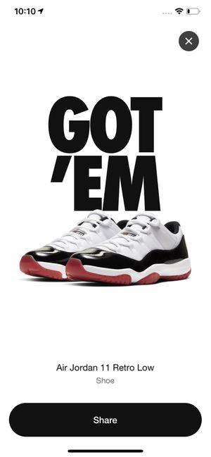 Jordan 11 low for Sale in Nashville, TN