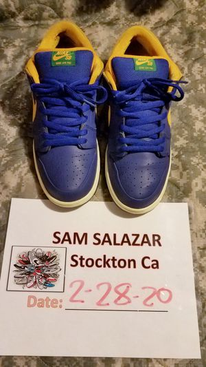 Nike Dunk SB Low Royal Blue Midas Gold - 304292-473  Size 12 for Sale in Stockton, CA