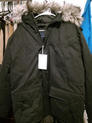 Used, American eagle men's expedition parka faux fur jacket XL for Sale for sale  South Corning, NY