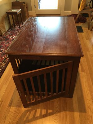 Large Side Table Dog Crate for Sale in Houston, TX