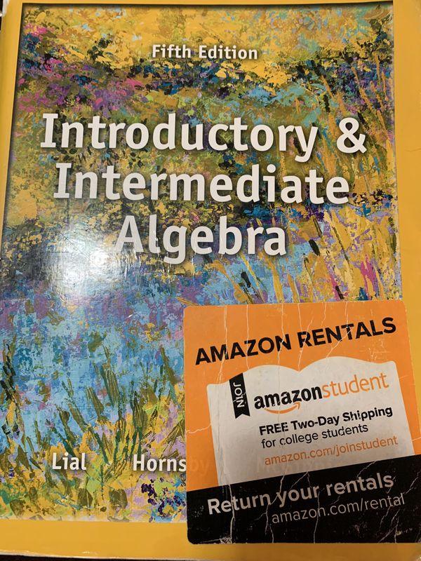 Introductory &intermediate Algebra