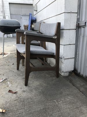 Mid Century prison chairs for Sale in Fullerton, CA