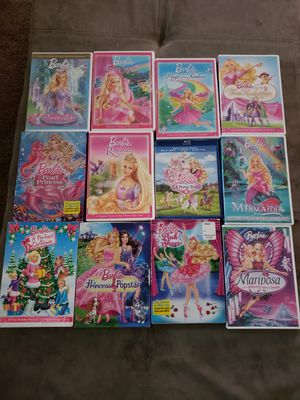 Various Barbie Dvds for Sale in Lockbourne, OH