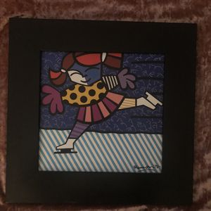 """Romero Britto """"Winter"""" From """"Seasons Of Miracles"""" for Sale in Goodlettsville, TN"""