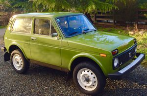 1985 LADA NIVA 4x4, Lada Taiga Austria,5 spd, Off-road car Compact SUV Bognor Diva for Sale in Vancouver, WA
