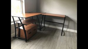 Office desk L shape for Sale in Port St. Lucie, FL