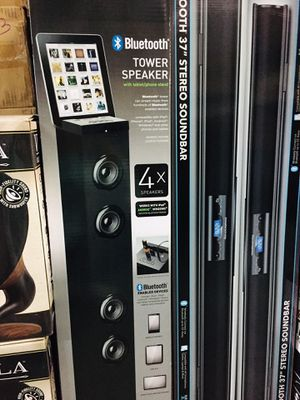 "TOWER SPEAKER 🔈 BLUETOOTH 37""tall for Sale in Los Angeles, CA"