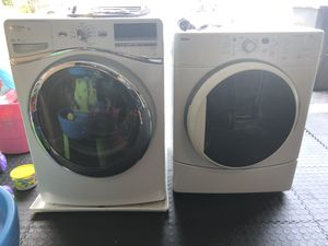 Whirlpool Washer and Kenmore Drier Set for Sale in Oakland Park, FL
