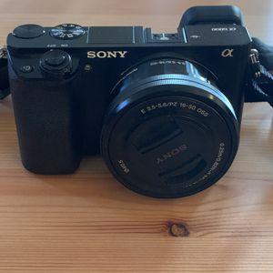 Sony a6000 mirrorless camera for Sale in Los Altos, CA