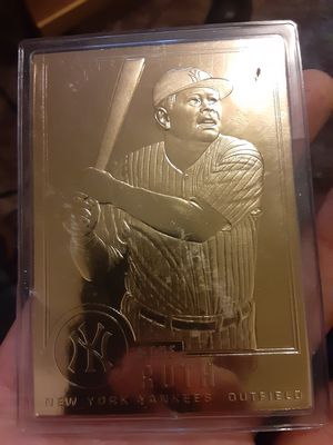 Gold babe ruth 1996 for Sale in Tamaqua, PA