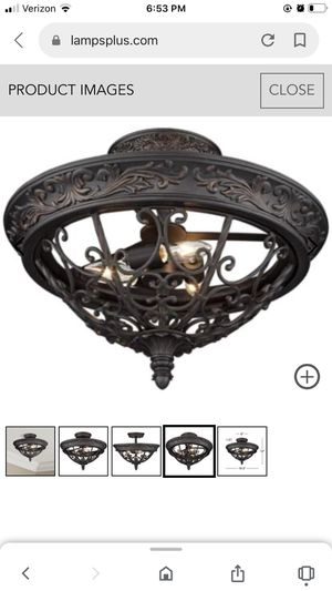 Ceiling light French traditional for Sale in Palm Harbor, FL