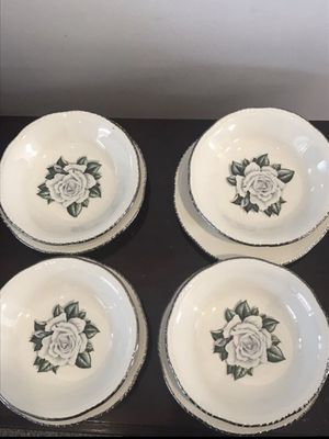 Vintage rose bowls and plates for Sale in Los Angeles, CA