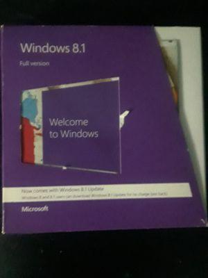 Windows 8.1 full installation +key for Sale in Detroit, MI