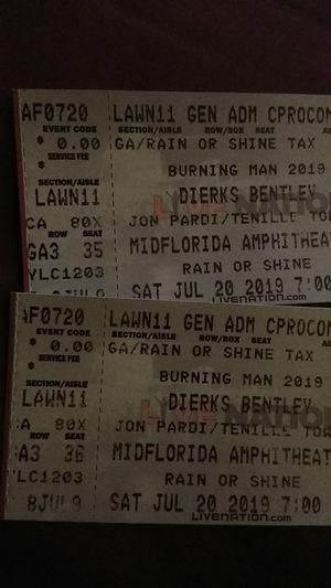 Dierks Bentley tickets for Sale in Tampa, FL