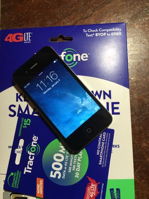iPhone 4G (Tracfone) for Sale in Hesperia, CA