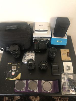 Nikon D7200 Bundle w/ great cleanses + Extras!! for Sale in Santa Rosa, CA