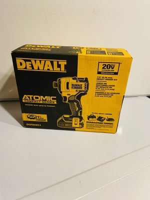 DEWALT ATOMIC 20-Volt MAX Lithium-Ion Brushless Cordless Compact 1/4 in. Impact Driver w/ (1) Battery 1.3Ah, Charger & Tool Bag for Sale in East Point, GA