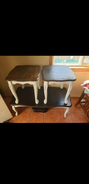 Coffe table n side tables for Sale in San Diego, CA