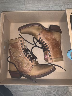 Tombstone Lace-up Boots for Sale in Phoenix, AZ