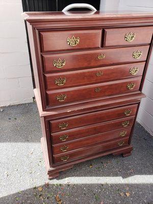 Noce highboy dresser good condition for Sale in Dundalk, MD