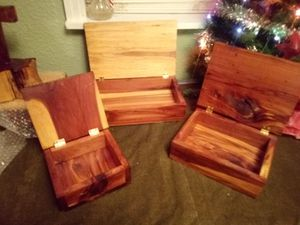 Cedarwood boxes for Sale in Tyler, TX
