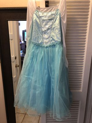 Elsa Disney dress for Sale in Fountain Valley, CA