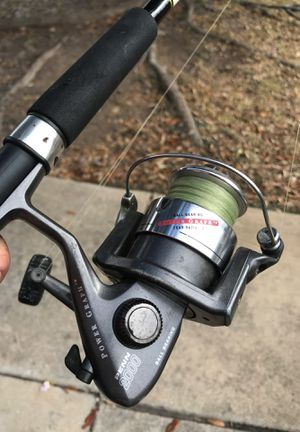 Penn fishing reel and Shakespeare rod for Sale in LaCoste, TX