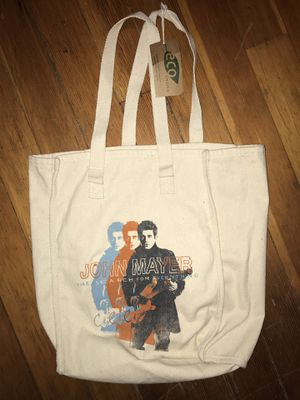 Brand new w/tags John Mayer tour tote bag for Sale in Tacoma, WA