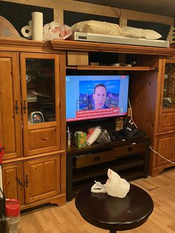 TV cabinet 2 pieces for Sale in Sterling Heights,  MI
