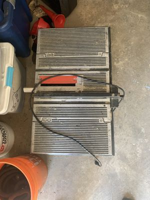 Craftsman Table Saw for Sale in Parkersburg, WV