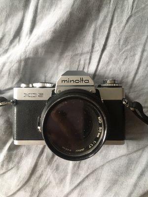 Minolta XD5 Film SLR camera for Sale in Brooklyn, NY