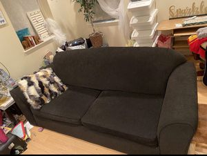 Black Fabric Sofa for Sale in Glenn Dale, MD