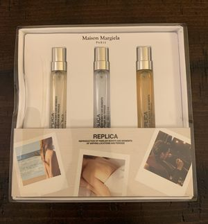 MAISON MARGIELA PARIS REPLICA SET 3 pcs. Reproduction of Familiar scents and moments of varying locations and periods . for Sale in Abingdon, MD