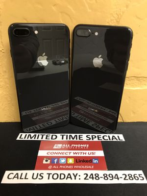 Sale: T-Mobile & Metro Pcs iPhone 8 Plus 64gb Used Black Mint Condition for Sale in Royal Oak, MI