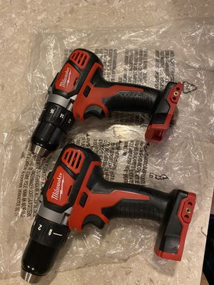 Milwaukee Drill Drivers 18 volt for Sale in Ceres, CA