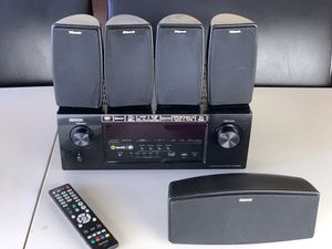 Denon receiver with 5 klipsch speakers for Sale in Daly City, CA