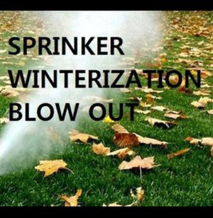 Winterization sprinkler blow out for Sale in Denver, CO