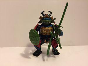 1990 Samurai Leo - TMNT Teenage Mutant Ninja Turtles - Vintage Action Figure Toy Playmates for Sale in Naperville, IL
