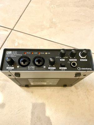 steinberg ur22 audio interface for Sale in Miami, FL