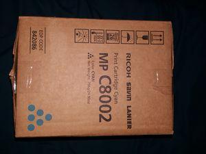 Ricoh print cartridge (blue) for Sale in Centreville, VA